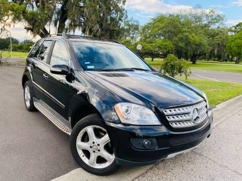 2008 Mercedes-Benz M-Class for sale at FLORIDA MIDO MOTORS INC in Tampa FL