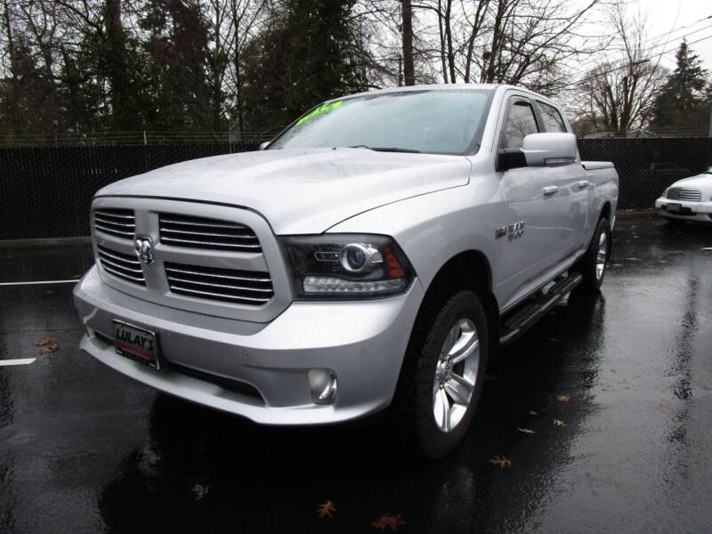 2017 RAM Ram Pickup 1500 for sale at LULAY'S CAR CONNECTION in Salem OR