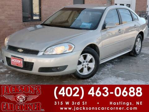 2010 Chevrolet Impala for sale at Jacksons Car Corner Inc in Hastings NE