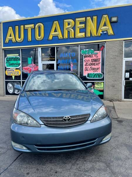 2002 Toyota Camry for sale at Auto Arena in Fairfield OH