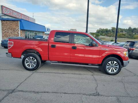 2010 Ford F-150 for sale at Optimus Auto in Omaha NE