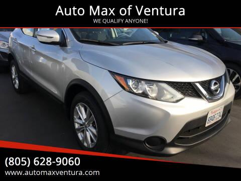 2017 Nissan Rogue Sport for sale at Auto Max of Ventura in Ventura CA