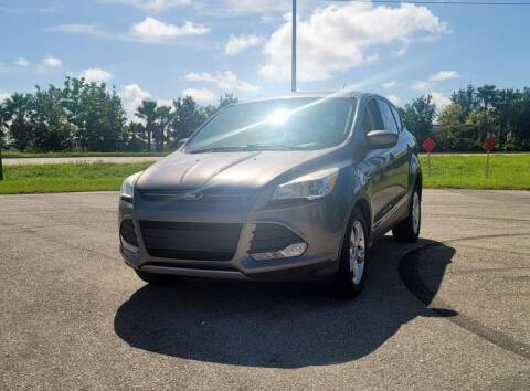 2014 Ford Escape for sale at FLORIDA USED CARS INC in Fort Myers FL