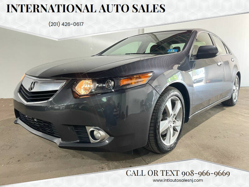 2013 Acura TSX for sale at International Auto Sales in Hasbrouck Heights NJ