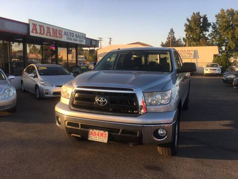 2012 Toyota Tundra for sale at Adams Auto Sales in Sacramento CA