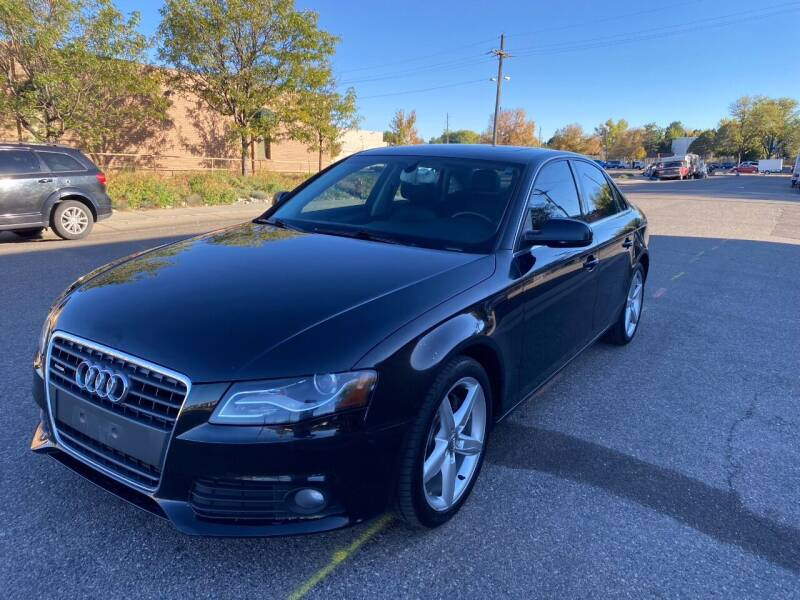 2011 Audi A4 for sale at AROUND THE WORLD AUTO SALES in Denver CO