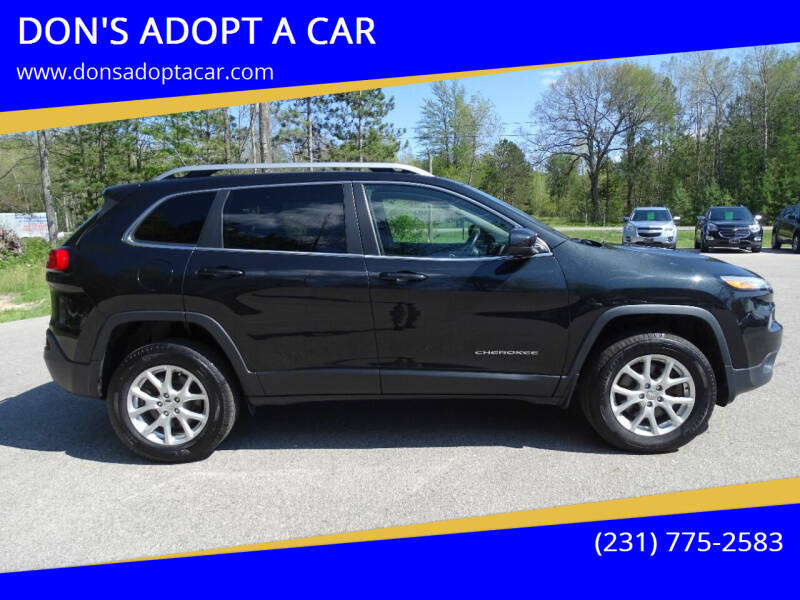 2015 Jeep Cherokee for sale at DON'S ADOPT A CAR in Cadillac MI