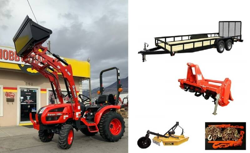 2021 Branson 2400H PACKAGE DEAL for sale at Hobby Tractors - New Tractors in Pleasant Grove UT