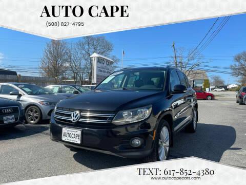 2013 Volkswagen Tiguan for sale at Auto Cape in Hyannis MA
