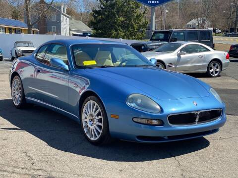 2002 Maserati Coupe for sale at Milford Automall Sales and Service in Bellingham MA