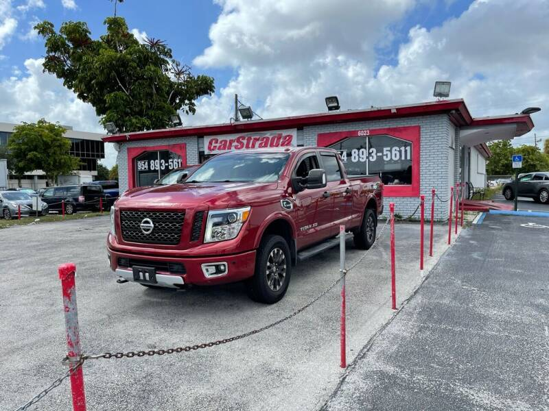 2016 Nissan Titan XD for sale at CARSTRADA in Hollywood FL