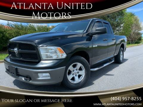 2010 Dodge Ram Pickup 1500 for sale at Atlanta United Motors in Buford GA
