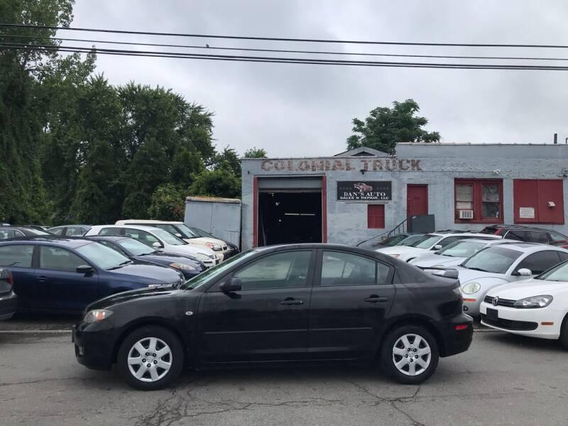 2008 Mazda MAZDA3 for sale at Dan's Auto Sales and Repair LLC in East Hartford CT