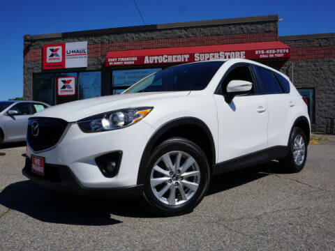 2015 Mazda CX-5 for sale at AutoCredit SuperStore in Lowell MA
