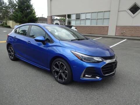2019 Chevrolet Cruze for sale at Prudent Autodeals Inc. in Seattle WA