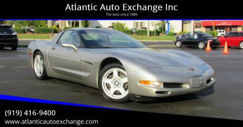 1999 Chevrolet Corvette for sale at Atlantic Auto Exchange Inc in Durham NC