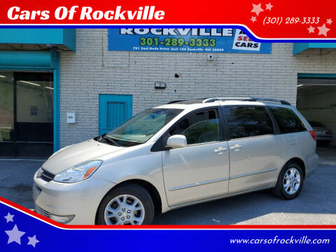 2005 Toyota Sienna for sale at Cars Of Rockville in Rockville MD