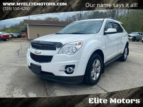 2013 Chevrolet Equinox for sale at Elite Motors in Uniontown PA
