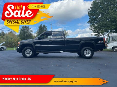 2006 GMC Sierra 3500 for sale at Woolley Auto Group LLC in Poland OH