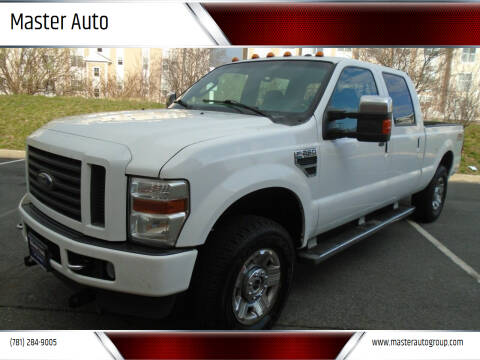 2009 Ford F-250 Super Duty for sale at Master Auto in Revere MA