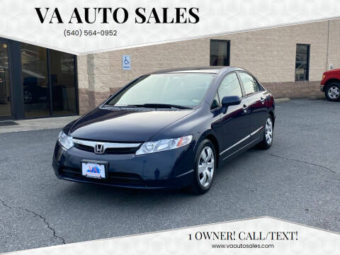 2006 Honda Civic for sale at Va Auto Sales in Harrisonburg VA