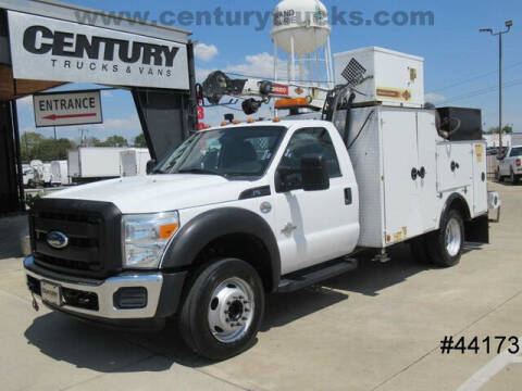 2011 Ford F-550 Super Duty for sale at CENTURY TRUCKS & VANS in Grand Prairie TX