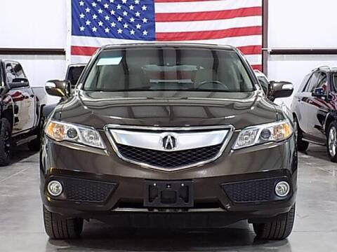2015 Acura RDX for sale at Texas Motor Sport in Houston TX