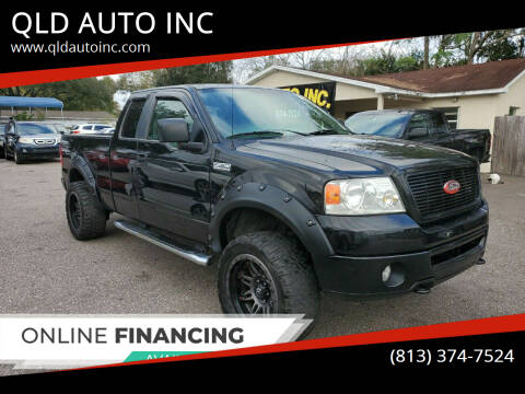 2008 Ford F-150 for sale at QLD AUTO INC in Tampa FL