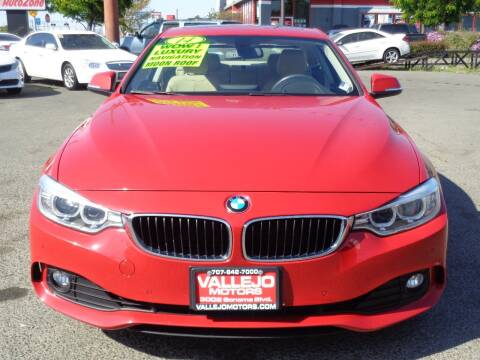 2015 BMW 4 Series for sale at Vallejo Motors in Vallejo CA