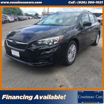2017 Subaru Impreza for sale at CousineauCars.com in Appleton WI