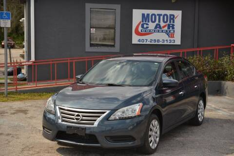 2015 Nissan Sentra for sale at Motor Car Concepts II - Apopka Location in Apopka FL