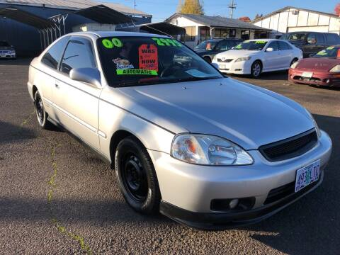 2000 Honda Civic for sale at Freeborn Motors in Lafayette, OR