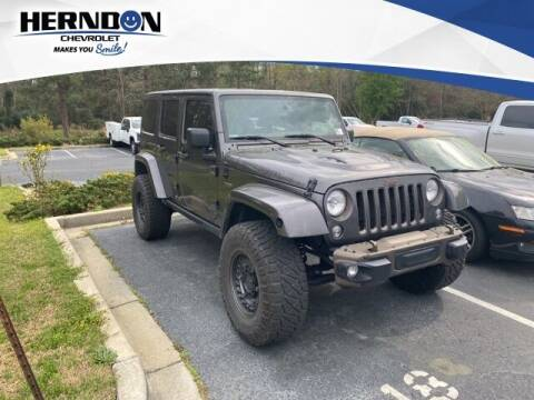 2016 Jeep Wrangler Unlimited for sale at Herndon Chevrolet in Lexington SC