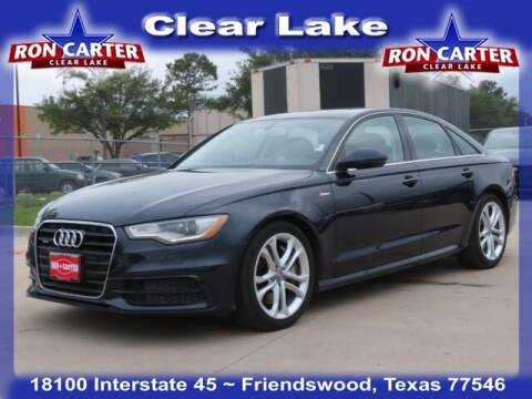 2015 Audi A6 for sale at Ron Carter  Clear Lake Used Cars in Houston TX