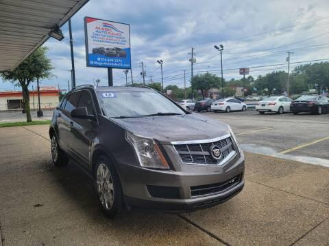 2012 Cadillac SRX for sale at Magic Auto Sales in Dallas TX