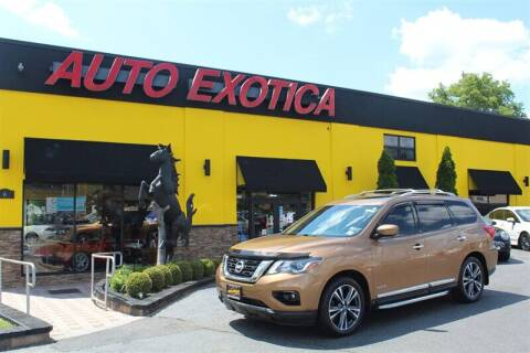 2017 Nissan Pathfinder for sale at Auto Exotica in Red Bank NJ