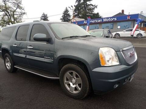 2007 GMC Yukon XL for sale at All American Motors in Tacoma WA