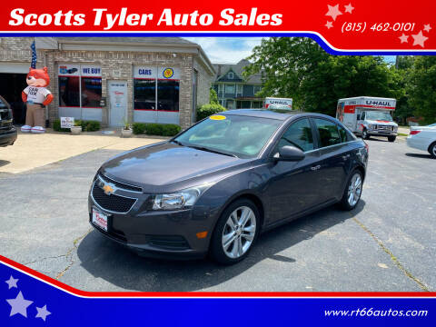 2011 Chevrolet Cruze for sale at Scotts Tyler Auto Sales in Wilmington IL