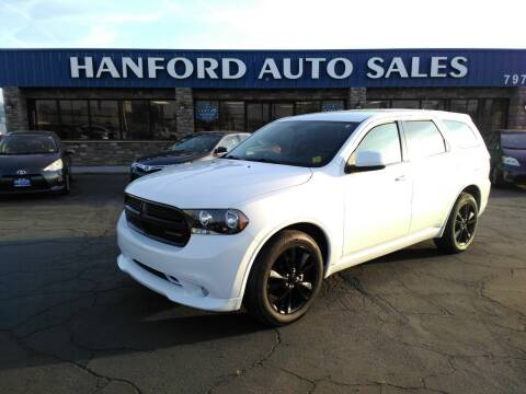 2013 Dodge Durango for sale at Hanford Auto Sales in Hanford CA