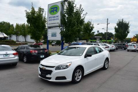2015 Chevrolet Malibu for sale at Rite Ride Inc 2 in Shelbyville TN