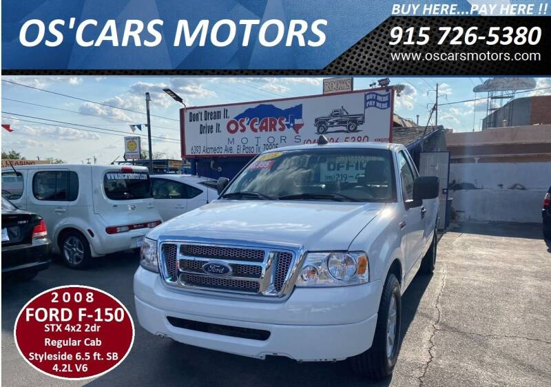 2008 Ford F-150 for sale at Os'Cars Motors in El Paso TX
