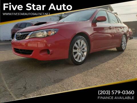 2008 Subaru Impreza for sale at Five Star Auto Sales in Bridgeport CT