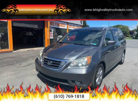 2010 Honda Odyssey for sale at Lehigh Valley Truck n Auto LLC. in Schnecksville PA