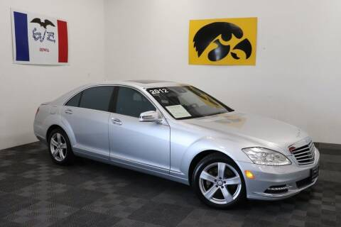 2012 Mercedes-Benz S-Class for sale at Carousel Auto Group in Iowa City IA