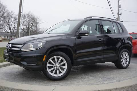 2017 Volkswagen Tiguan for sale at Platinum Motors LLC in Heath OH