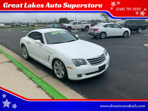 2005 Chrysler Crossfire for sale at Great Lakes Auto Superstore in Waterford Township MI