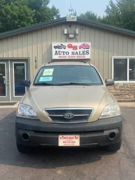 2003 Kia Sorento for sale at QS Auto Sales in Sioux Falls SD