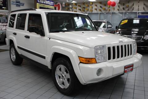 2006 Jeep Commander for sale at Windy City Motors in Chicago IL