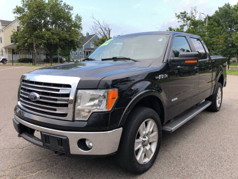 2013 Ford F-150 for sale at Commercial Street Auto Sales in Lynn MA