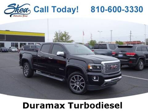 2017 GMC Canyon for sale at Erick's Used Car Factory in Flint MI